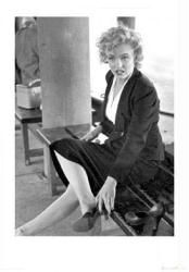 #Marilyn #Monroe #print / #poster: Putting On #Shoe (23 1/2'' X 31 1/2'') Only $7.97 at www.moviepostersetc.com
