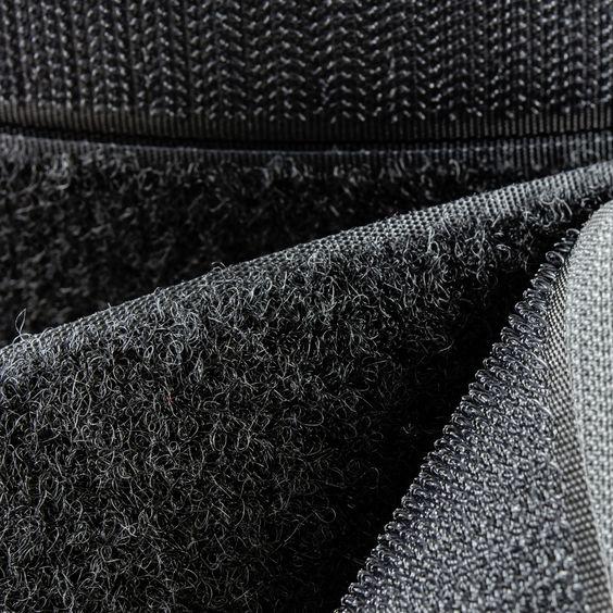"""6"""" - DuraGrip® brand Peel & Stick Hook: Rubber - Black DG60BLHR-BTY"""