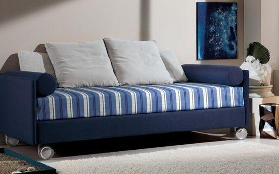 divano letto con ruote www.badroom.it  camerette per ragazzi  Pinterest