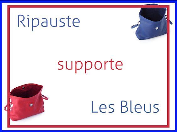 L'équipe Ripauste en mode supporter!
