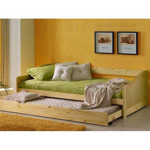 Sofa cama nido pino 159 euros bedroom pinterest sof s - Fabricar cama nido ...