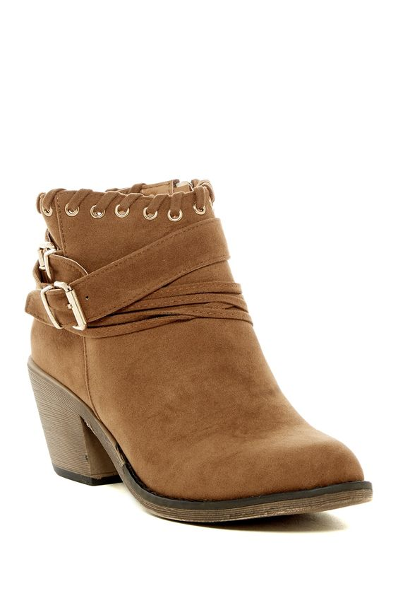 Dallas Whipstitched Bootie