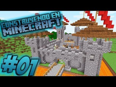 Como Hacer Un Castillo En Minecraft Para Survival Omarzcraft Youtube Como Hacer Un Castillo Minecraft Survival