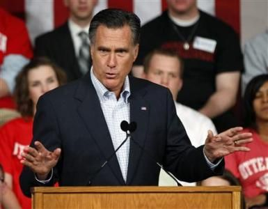 Romney accuses President Obama of politicizing the bin Laden raid.