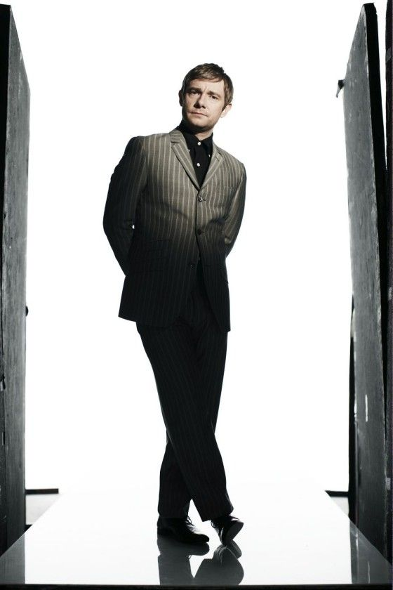 """Martin Freeman from """"Moses & Guy 