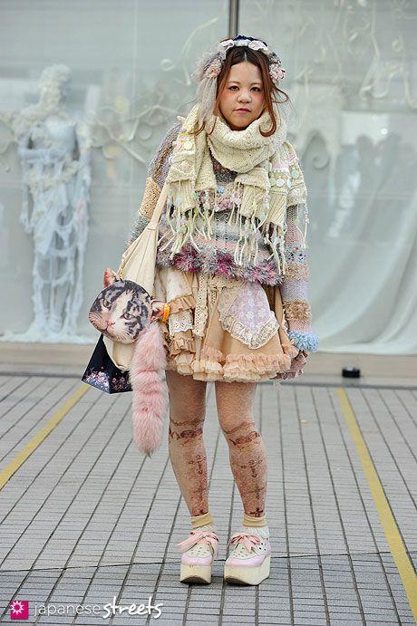121102-9867: Japanese street fashion in Shibuya, Tokyo.