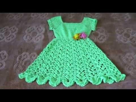 كروشيه فستان اطفال تجهيزات العيد فستان بناتي سهل جدا للمبتدئين حنان1 Crochet Baby Dress Youtube Summer Dresses Fashion Dresses