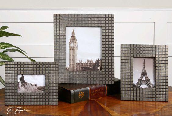 Koda photo frames set of 3  frames sizes: 8x10, 9x11, 12x14  photo sizes: 4x6, 5x7, 8x10