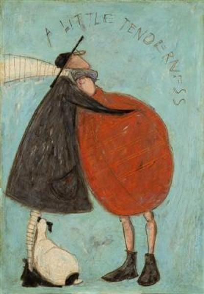 A Little Tenderness by Sam Toft This is what I need, and others as well many times instead of condemnation. Thank you, Jesus.