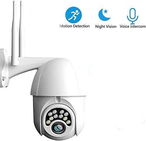 Outdoor Pan Tilt Wifi Security Camera Security Camera Wifi Ptz Camera