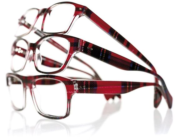Tartan eyewear ~ love, want, need these!