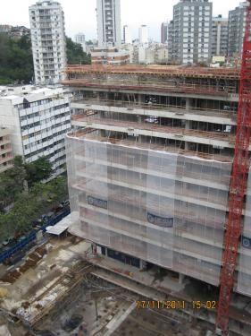 Construção da torre Oscar Niemeyer.    Acesse a FGV no Facebook:  http://www.facebook.com/fgv.oficial