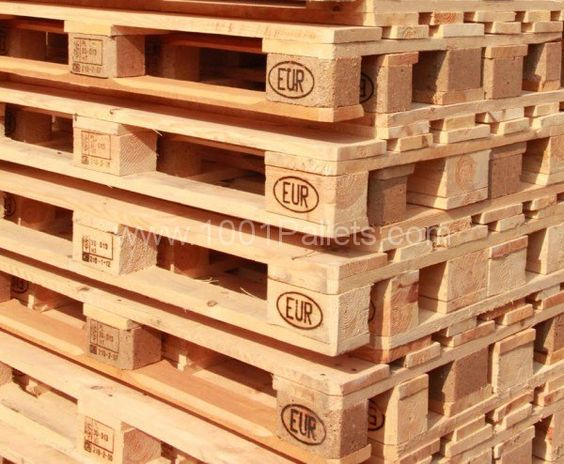 Wooden shipping pallets (especially treated ones) are a great source of wood for SO MANY things on a farm.  I am always on the lookout for good, treated pallets.