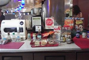 Gluten Free Station in Dining Hall