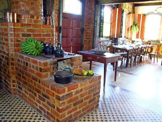 decoracao cozinha rural : decoracao cozinha rural: Decoração para inspirar: cozinha gourmet, com ilha e americana – Vai