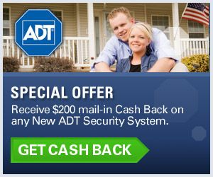 ADT Home Security Cashback Offer
