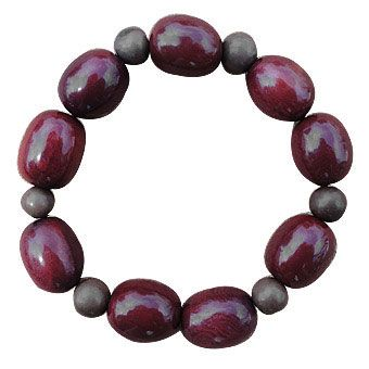 Tagua Bracelet with Acai - Tagua Jewelry by Green Diva