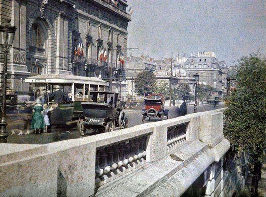 Insólitas fotografías de París tomadas hace 100 años | Huffington Post