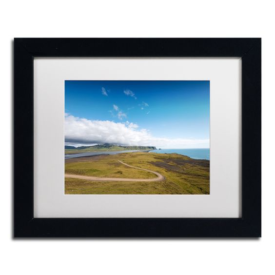 Philippe Sainte-Laudy 'Icelandic Walk' Matted Framed Art