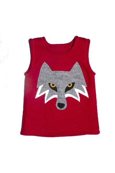 """Pullunder - Pullunder """"böser Wolf"""" - ein Designerstück von Lariletti bei DaWanda"""