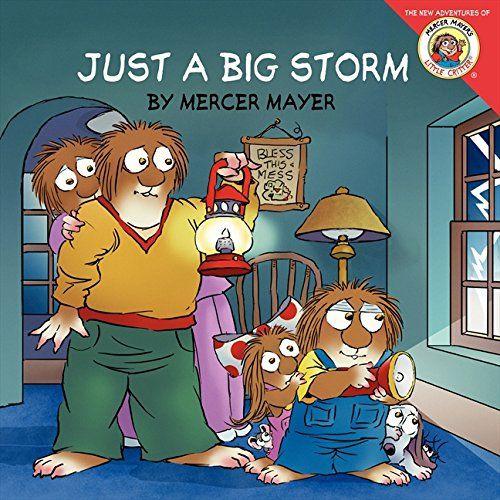 Little Critter: Just a Big Storm by Mercer Mayer http://www.amazon.com/dp/0061478040/ref=cm_sw_r_pi_dp_pjktxb1QSHB7F