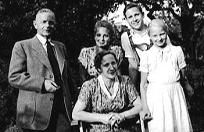 Ruth and Erich Hientzsch and their children (1951)