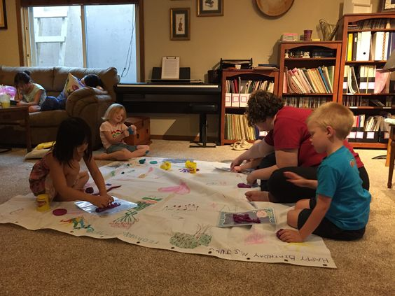 Preschool dynamics group lesson.