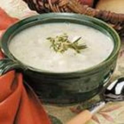Herbed Potato Soup - Click image to find more Food & Drink Pinterest pins