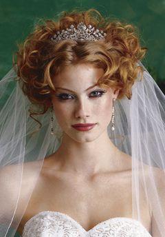 Hair beautiful bride