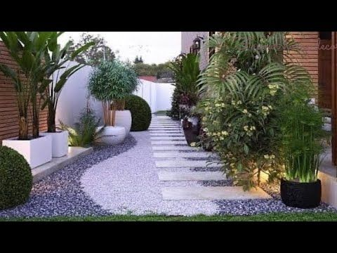Beautiful Small Garden Landscaping Ideas Pt2 Youtube In 2020 Small Garden Garden Landscaping Garden Deco