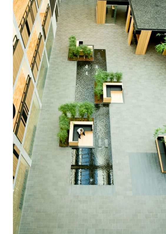 Landscape a design project vat83 multi user office for Office garden design