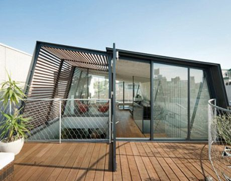 Roof deck, Roof terraces and Glass boxes on Pinterest