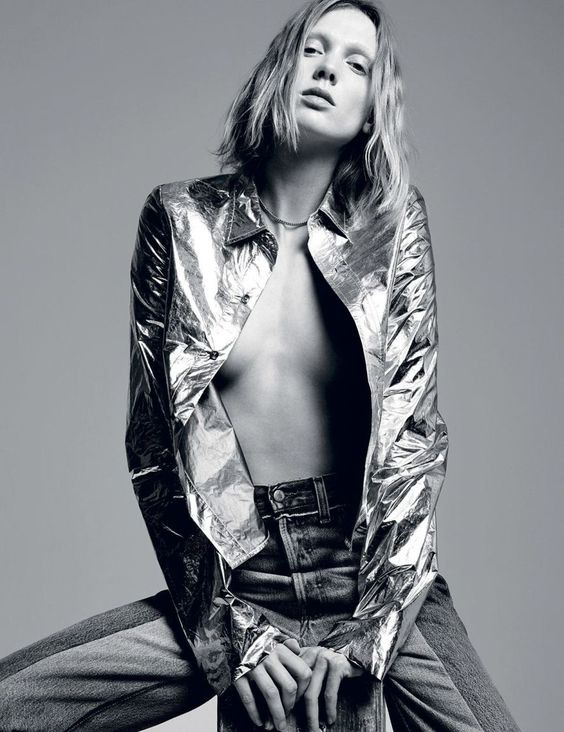 Dress Like You're Already Famous: #AnnelyBouma by #KacperKasprzyk for #iDMagazine Winter 2014