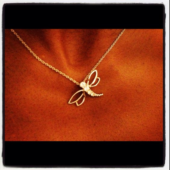 Thanks Bugsy for the dragon fly pendant.....