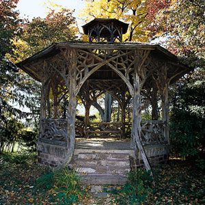 Pinterest the world s catalog of ideas for Rustic gazebo kits