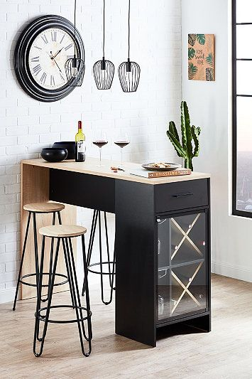 table bar cuisine meuble bar cuisine