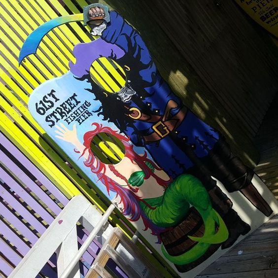 Arrrrrrrr. #fishing #61stpier #pier #pierlife #galveston #TX #Texas #dock #gulfofmexico #fish