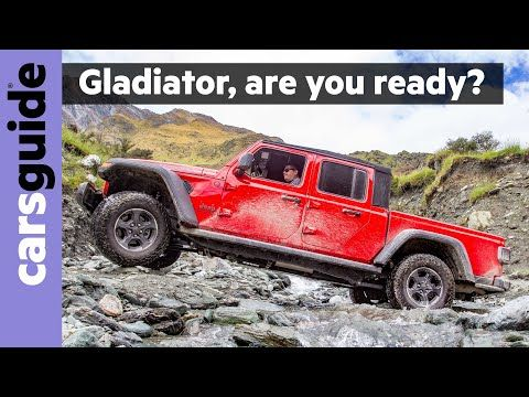 All Cars New Zealand Video Jeep Gladiator 2020 Review Rubicon Off Ro In 2020 Jeep Gladiator Gladiator Jeep