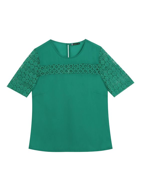 Still de blusa verde