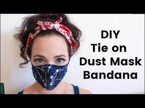 Diy Tie On Dust Mask Bandana For Burning Man Youtube Dust Mask