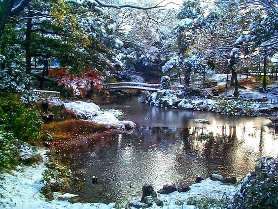 Winter garden japanese winter garden garden for Garden design winter 2018