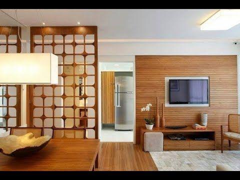فواصل خشبية مودرن الفواصل الخشبية للديكور Modern Room Divider Fabric Room Dividers Living Room Divider