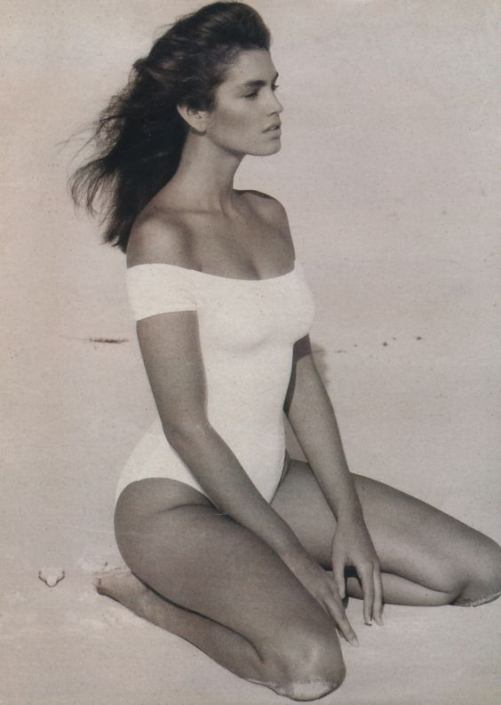 Cindy Crawford really looked a lot like Gia in this shoot! xo D