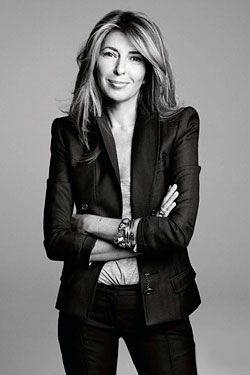 Nina Garcia - cause she's sharp as a tack and has super great style (love the shoulders on that jacket!)