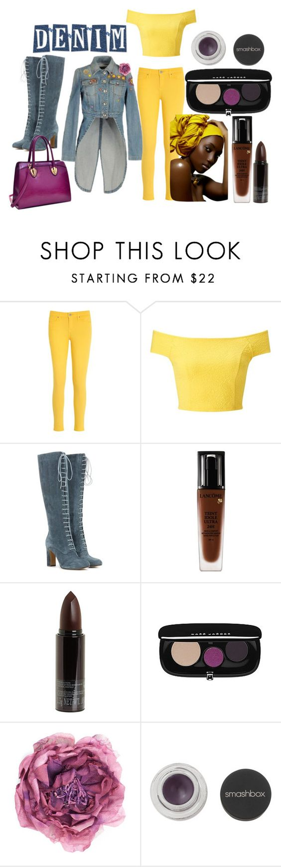 """""""Make Honey, not War"""" by serinde ❤ liked on Polyvore featuring Tommy Hilfiger, Miss Selfridge, Etro, Lancôme, Serge Lutens, Marc Jacobs, Gucci, Smashbox and Dasein"""