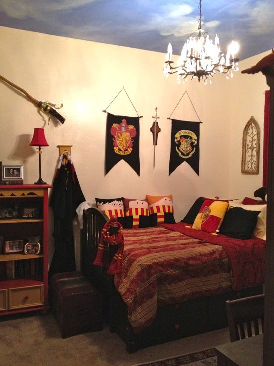 25 Fantasy Bedrooms Geeks Would For Harry Potter And