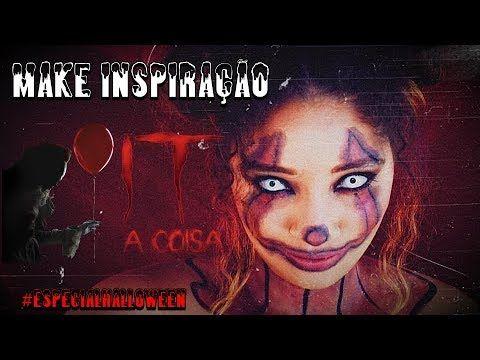 Especialhalloween Make Inspiracao It A Coisa Por Anny Ribeiro