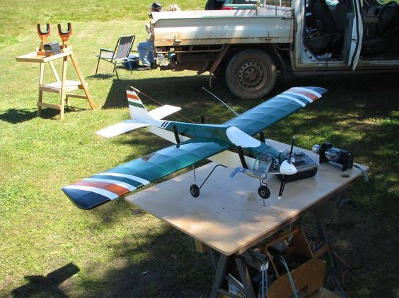"""Aeroflyte Scorpio. Built in 1978 from a kit, (that's 36 years ago). I still have the plane and the box it came in ! 48"""" wingspan .25 OS 4 channel."""