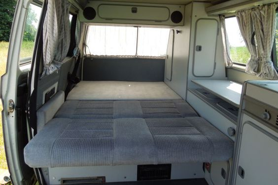 camper rostock and campingbus on pinterest. Black Bedroom Furniture Sets. Home Design Ideas