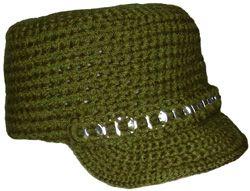 Crochet Hat with Brim | Crochet Hats - Crochet Geek